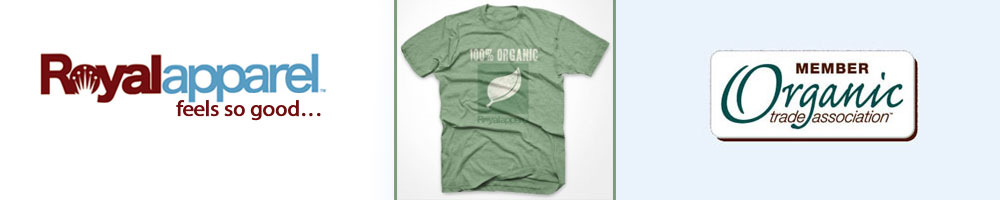 USA Made Organic Apparel from Royal Apparel