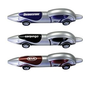 Race Car Automobile Ballpoint Pen - Black