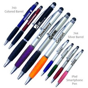 Smart Phone Tablet and iphone Pen With Stylus Tip & Comfort Grip