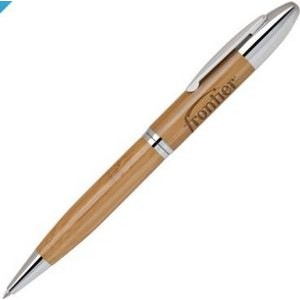 Bamboo-1 Chrome Twist Action Ballpoint Pen